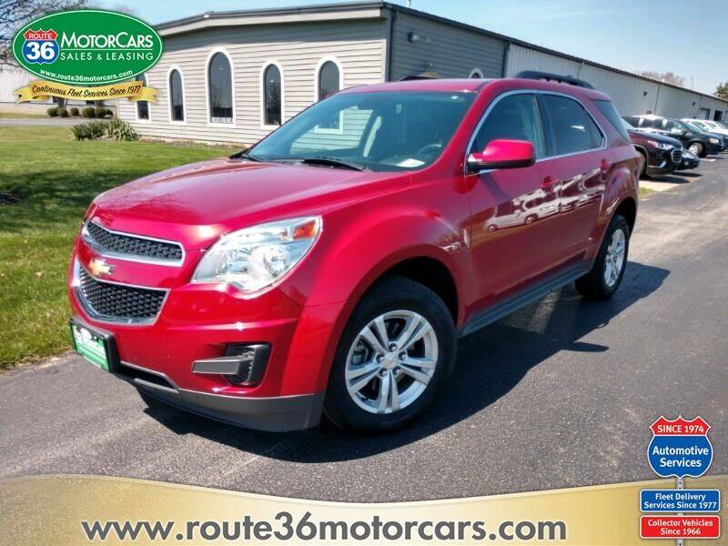 2013 Chevrolet Equinox for sale at ROUTE 36 MOTORCARS in Dublin OH