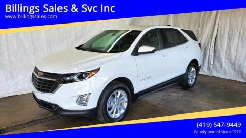 2020 Chevrolet Equinox for sale at Billings Sales & Svc Inc in Clyde OH