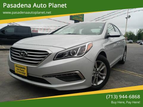 2015 Hyundai Sonata for sale at Pasadena Auto Planet in Houston TX