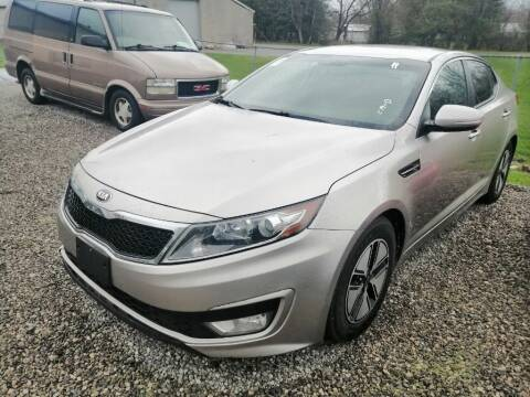 2012 Kia Optima Hybrid for sale at KRIS RADIO QUALITY KARS INC in Mansfield OH
