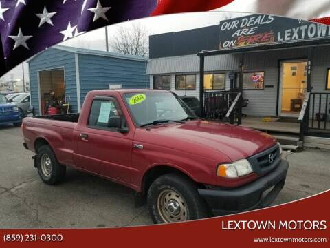 2004 Mazda B-Series Truck for sale at LexTown Motors in Lexington KY