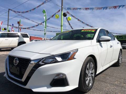 2020 Nissan Altima for sale at 1st Quality Motors LLC in Gallup NM