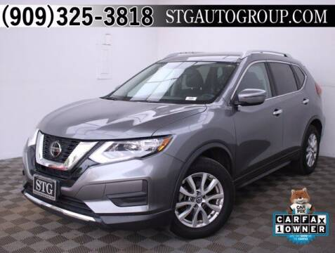 2018 Nissan Rogue for sale at STG Auto Group in Montclair CA