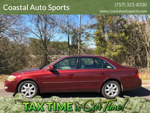 2000 Toyota Avalon for sale at Coastal Auto Sports in Chesapeake VA