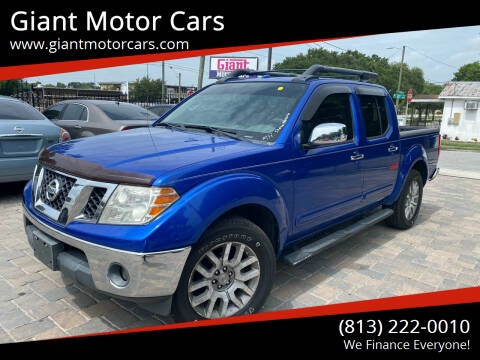 2012 Nissan Frontier for sale at Giant Motor Cars in Tampa FL