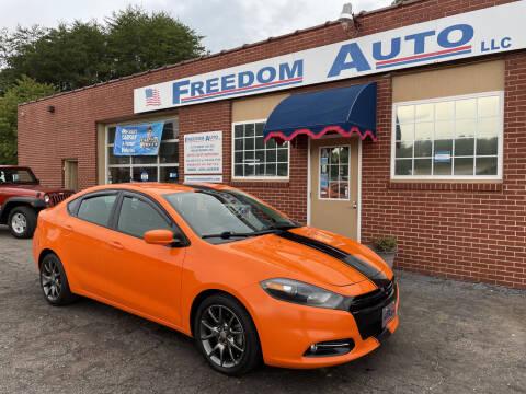 2013 Dodge Dart for sale at FREEDOM AUTO LLC in Wilkesboro NC