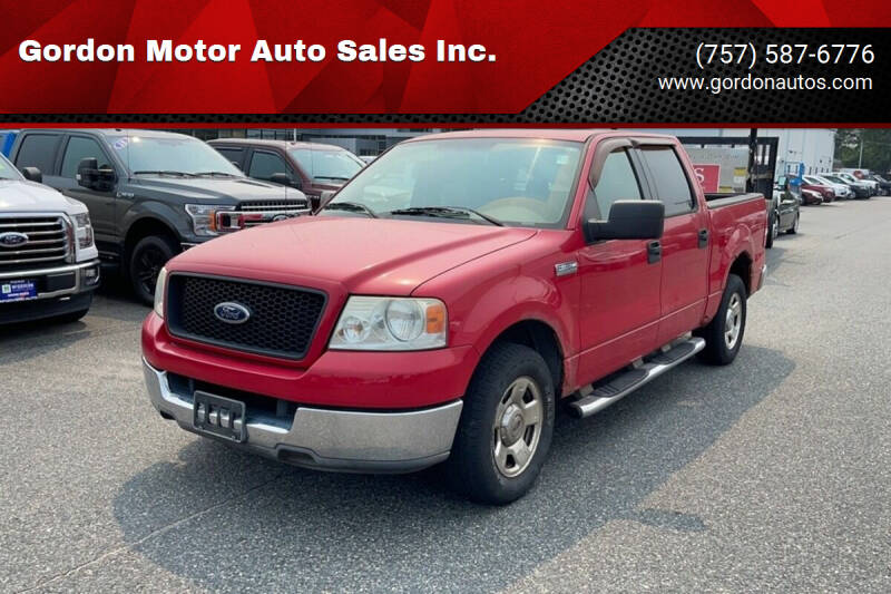 2004 Ford F-150 for sale at Gordon Motor Auto Sales Inc. in Norfolk VA