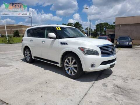 2012 Infiniti QX56 for sale at GATOR'S IMPORT SUPERSTORE in Melbourne FL