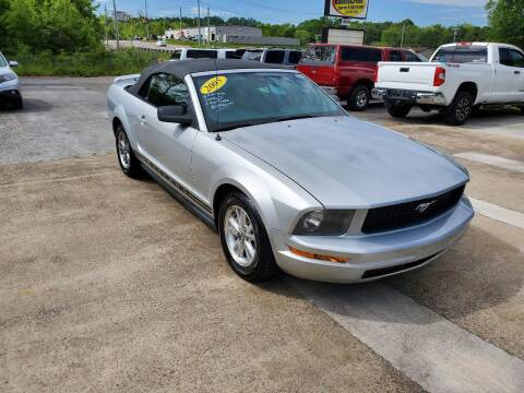 2005 Ford Mustang for sale at DISCOUNT AUTO SALES in Johnson City TN