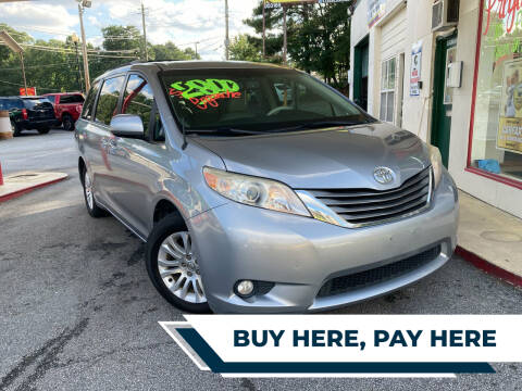 2013 Toyota Sienna for sale at Automan Auto Sales, LLC in Norcross GA