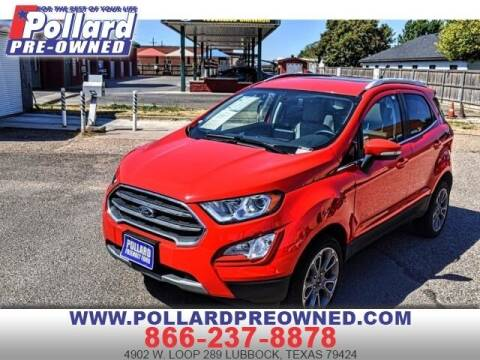 2019 Ford EcoSport for sale at South Plains Autoplex by RANDY BUCHANAN in Lubbock TX