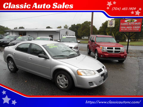 2006 Dodge Stratus for sale at Classic Auto Sales in Maiden NC