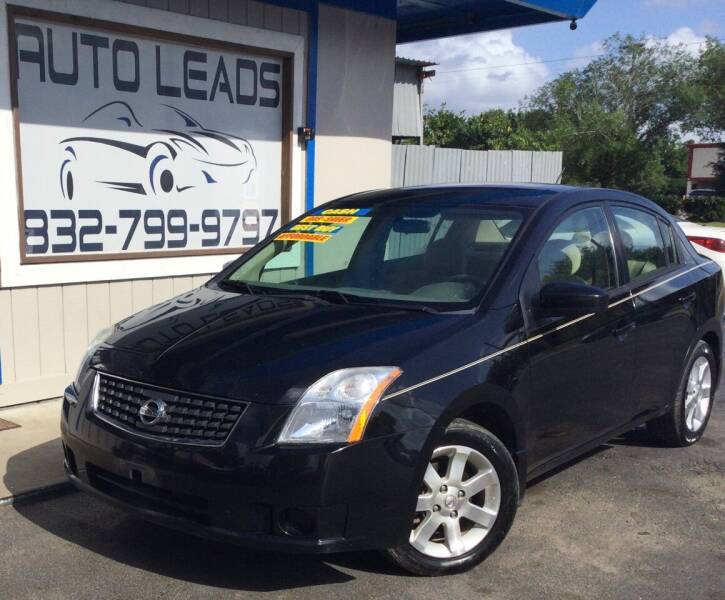 2007 Nissan Sentra for sale at AUTO LEADS in Pasadena TX