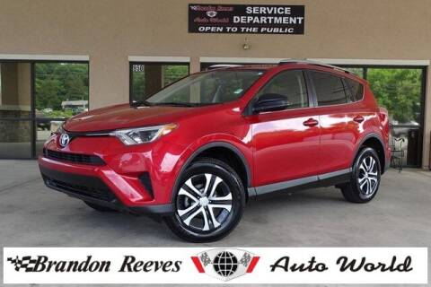 2016 Toyota RAV4 for sale at Brandon Reeves Auto World in Monroe NC