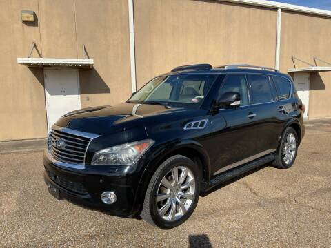 2012 Infiniti QX56 for sale at The Auto Toy Store in Robinsonville MS