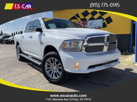 2013 RAM Ram Pickup 1500 for sale at Escar Auto in El Paso TX