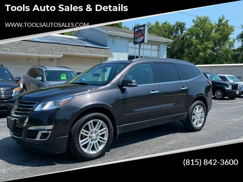 2015 Chevrolet Traverse for sale at Tools Auto Sales & Details in Pontiac IL