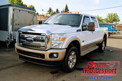 2012 Ford F-350 Super Duty for sale at Salem Motorsports in Salem OR