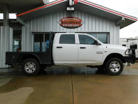 2015 RAM Ram Pickup 2500 for sale at Motorsports Unlimited in McAlester OK