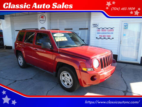 2010 Jeep Patriot for sale at Classic Auto Sales in Maiden NC