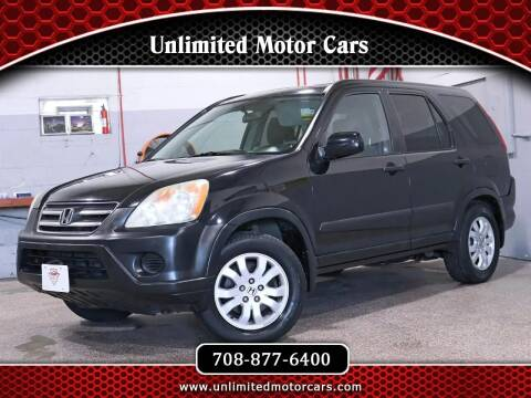 2006 Honda CR-V for sale at Unlimited Motor Cars in Bridgeview IL