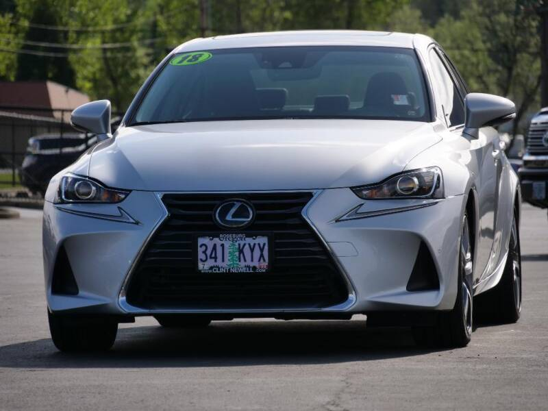 2018 Lexus IS 300 for sale at CLINT NEWELL USED CARS in Roseburg OR