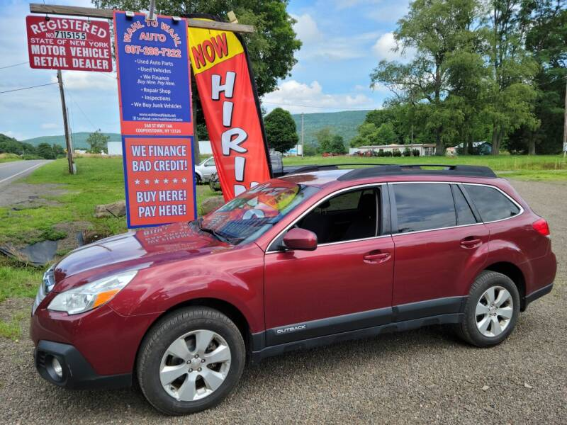 2014 Subaru Outback for sale at Wahl to Wahl Auto Parts in Cooperstown NY