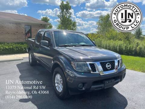 2015 Nissan Frontier for sale at IJN Automotive Group LLC in Reynoldsburg OH