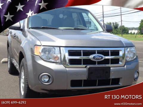 2010 Ford Escape for sale at RT 130 Motors in Burlington NJ