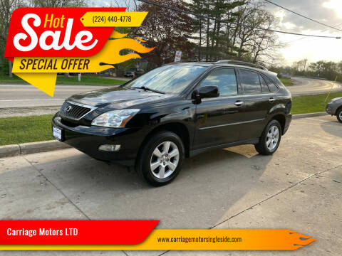 2009 Lexus RX 350 for sale at Carriage Motors LTD in Ingleside IL