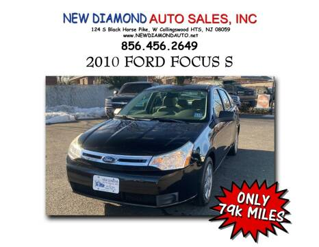 2010 Ford Focus for sale at New Diamond Auto Sales, INC in West Collingswood NJ