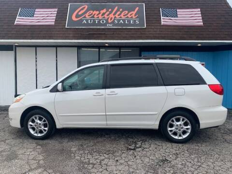 2006 Toyota Sienna for sale at Certified Auto Sales, Inc in Lorain OH