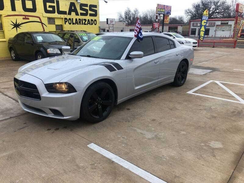 2012 Dodge Charger for sale at D & M Vehicle LLC in Oklahoma City OK
