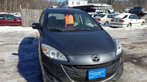 2013 Mazda MAZDA5 for sale at Lewis Auto Sales in Lisbon ME
