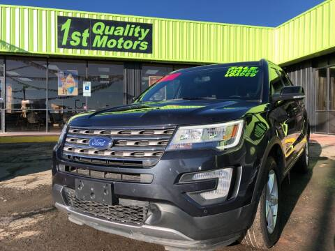 2017 Ford Explorer for sale at 1st Quality Motors LLC in Gallup NM