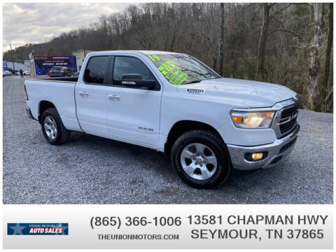 2019 RAM Ram Pickup 1500 for sale at Union Motors in Seymour TN