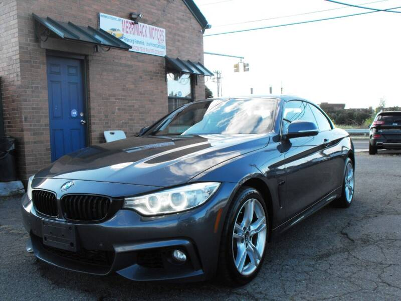 2015 BMW 4 Series for sale at Merrimack Motors in Lawrence MA
