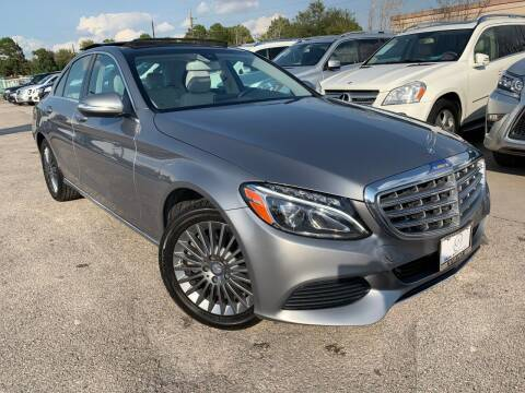 2015 Mercedes-Benz C-Class for sale at KAYALAR MOTORS in Houston TX