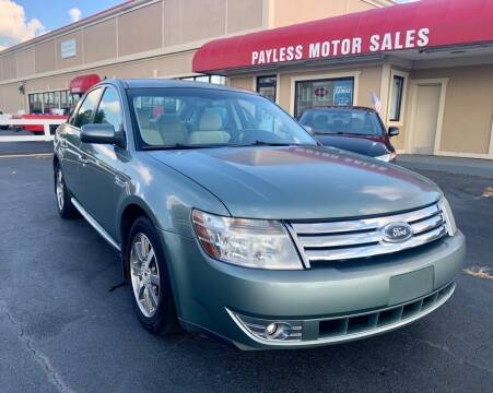 2008 Ford Taurus for sale at Payless Motor Sales LLC in Burlington NC