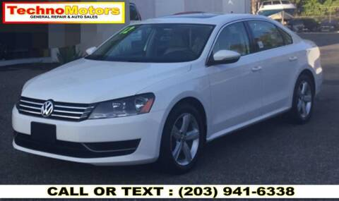 2012 Volkswagen Passat for sale at Techno Motors in Danbury CT