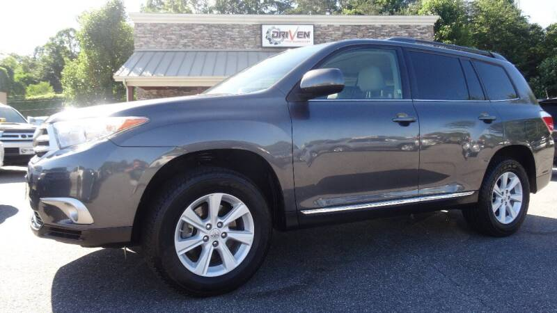 2012 Toyota Highlander for sale at Driven Pre-Owned in Lenoir NC