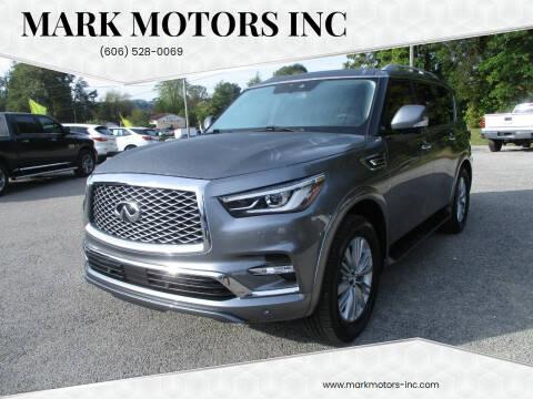 2018 Infiniti QX80 for sale at Mark Motors Inc in Gray KY
