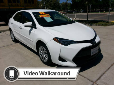 2017 Toyota Corolla for sale at Super Cars Sales Inc #1 - Super Auto Sales Inc #2 in Modesto CA