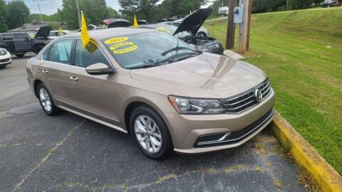 2016 Volkswagen Passat for sale at CarsPlus in Scottsboro AL