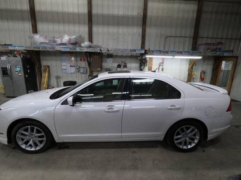 2011 Ford Fusion for sale at Alpha Auto - Mitchell in Mitchel SD