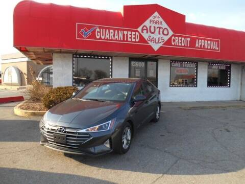 2020 Hyundai Elantra for sale at Oak Park Auto Sales in Oak Park MI