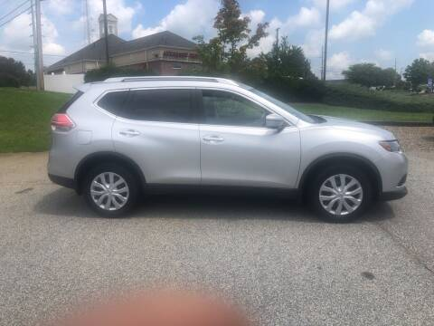 2016 Nissan Rogue for sale at Bill Henderson Auto Group Inc in Statesville NC