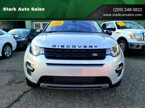 2017 Land Rover Discovery Sport for sale at Stark Auto Sales in Modesto CA