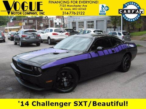 2014 Dodge Challenger for sale at Vogue Motor Company Inc in Saint Louis MO