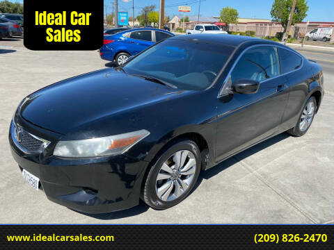 2009 Honda Accord for sale at Ideal Car Sales in Los Banos CA